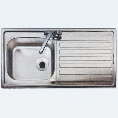 Astracast Eclipse 1 Bowl 1TH Kitchen Sink 980 x 510 - 52002231